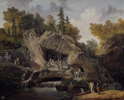 Grotto of The Baths of Apollo (Le Bosquet des Bains d'Apollon)