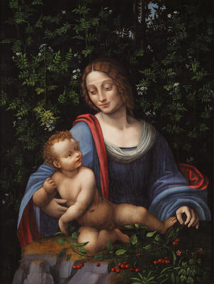 Madonna and Child in a Jasmine Bower