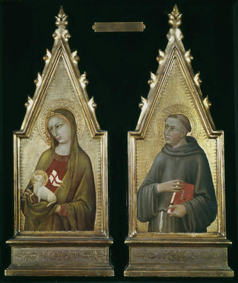 St. Agnes and St. Anthony Panels