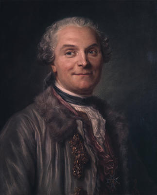 Portrait of Charles-Marie de la Condamine