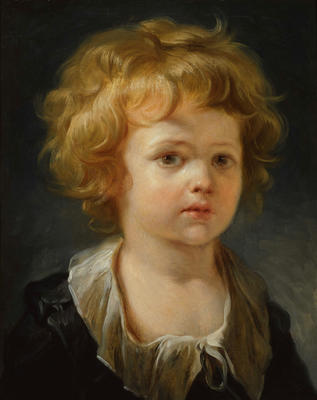 Portrait of a Young Boy in a White Collar (Enfant à la Collerette)