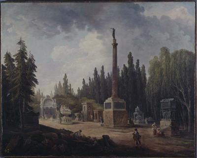 Memorial Garden of Lenoir's Museum of French Monuments (Le Jardin Elysée du Musée des Monuments Français)