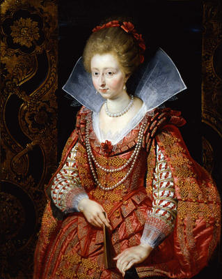 Portrait of Charlotte-Marguerite de Montmorency, Princess of Condé