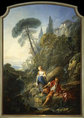 Pastorale: A Peasant Boy Fishing