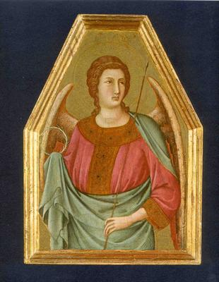 Angel with Crown of Thorns and Spear