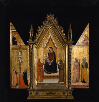 Madonna and Child with Saints; Saints Peter and Paul; Crucifixion; Annunciation