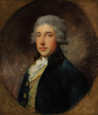 Portrait of Sir Richard Brinsley Sheridan