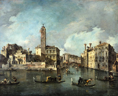 View on the Grand Canal at San Geremia, Venice