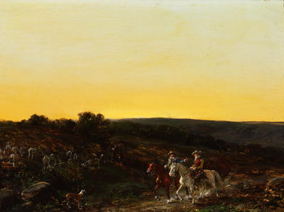 Landscape with Two Riders