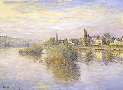 Banks of the Seine at Lavacourt (Bords de la Seine a Lavacourt)