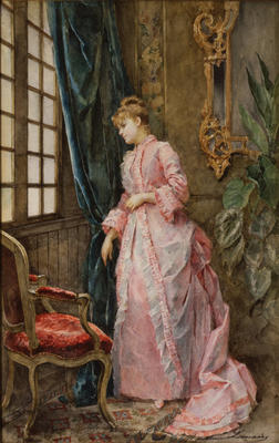 Interior: Lady at a Window (Expectation)