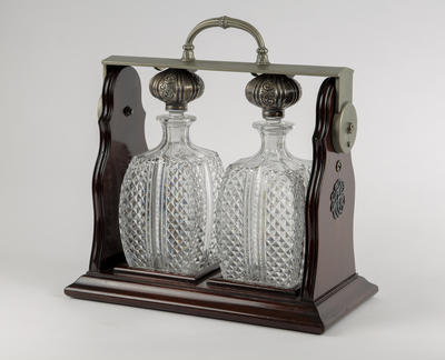 Decanters and Holder