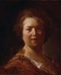 Portrait of a Woman Called Fragonard's Cook (Portrait Study of a Head); Head of a Laughing Man
