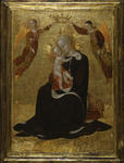 The Virgin of Humility Crowned by Two Angels